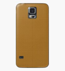 Gold Knitted Pattern ) Case/Skin for Samsung Galaxy