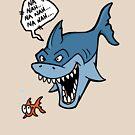 Na Nah Shark by Calvin Innes