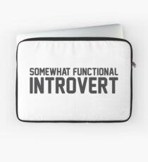Functional Introvert Laptop Sleeve