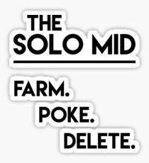 The Solo Mid Sticker