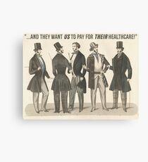 Healthcare Canvas Print