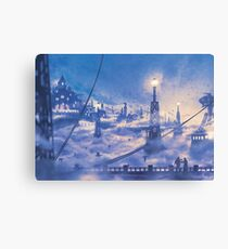 Soldier's Field  Canvas Print