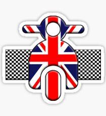 Union Jack Scoot Sticker