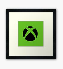 Xbox Green  Framed Print