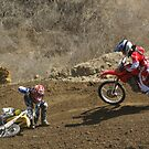 """Motocross - """"Someone Please help me get this bike up so I can ride!"""" by leih2008"""