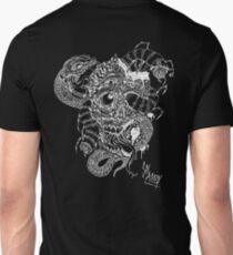 zombie/snake mutilation white T-Shirt