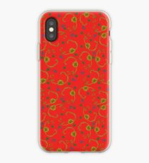 Paisleys and Flowers iPhone Case
