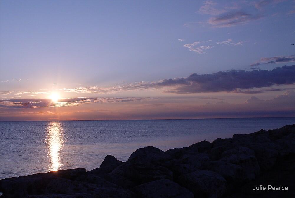 Lake Michigan Sunrise by Julié Pearce