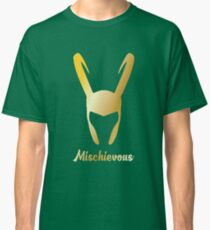 "Loki ""Mischievous"" God of Mischief  Classic T-Shirt"