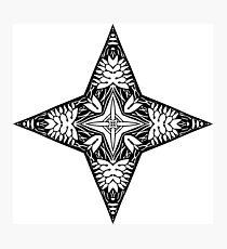 Star Abstract Design Photographic Print