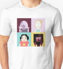 4 Square Crystal Gems  Unisex T-Shirt