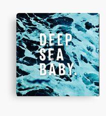 Deep Sea Baby Canvas Print