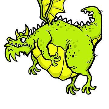Huff 'n' Puff The Dragon by calvininnes