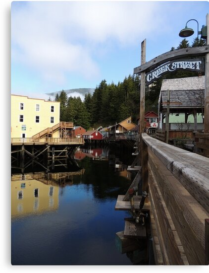 Ketchikan Creek Street by PacNorthImages