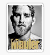 The Mauler B&W Pic Sticker