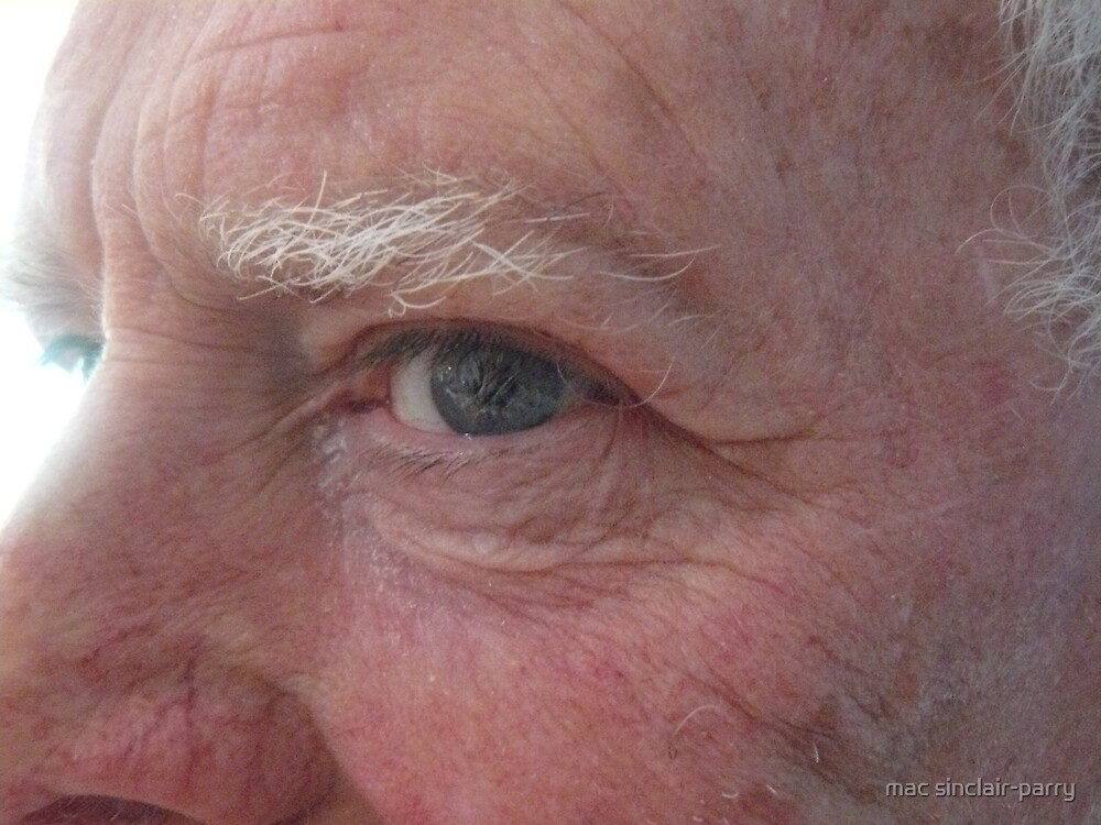 aging eye by mac sinclair-parry