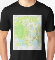 USGS TOPO Map Florida FL Keystone Heights 346930 1949 24000 T-Shirt