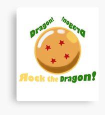 4 Star Dragonball Canvas Print