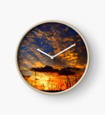 Sunset Circuit Clock