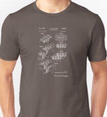 Lego Brick Patent 1958 Unisex T-Shirt