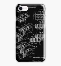 Lego Brick Patent 1958 iPhone Case/Skin