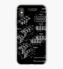 Lego Brick Patent 1958 iPhone Case