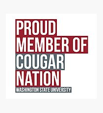 Washington State University - Style 32 Photographic Print