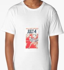 Uncle Sam's Birthday 4th July Long T-Shirt