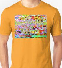 Massive pixel texture design Unisex T-Shirt