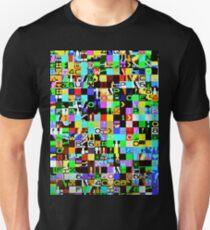 Cool pixel texture design Unisex T-Shirt