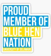 University of Delaware - Style 32 Sticker
