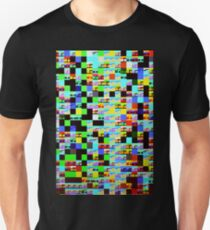 Funny and cute pixel texture design Unisex T-Shirt