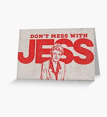 Murder, She Wrote: Don't Mess With Jess  Greeting Card