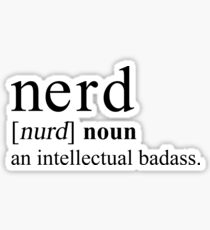 NERD DEFINITION Sticker