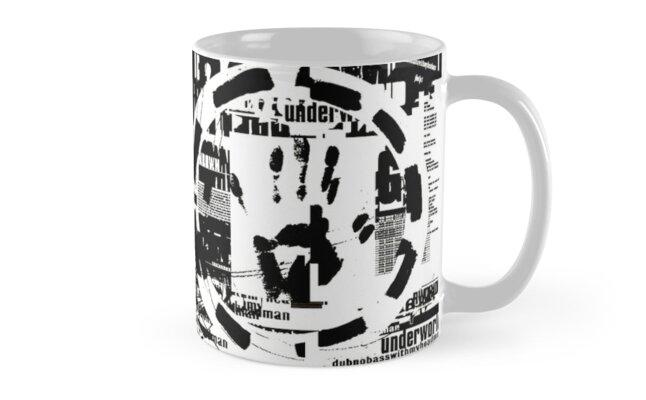 Underworld - Dubnobasswithmyheadman Mug by innerspaceboy