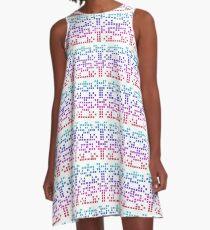 Pixel Party A-Line Dress