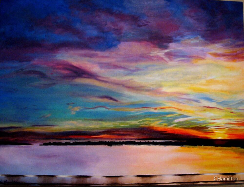 Bridge Sunset by CHamilton