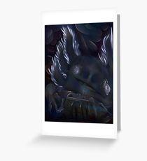 Axolotl Dragon  Greeting Card