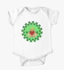 Claddagh and Knotwork Green Kids Clothes