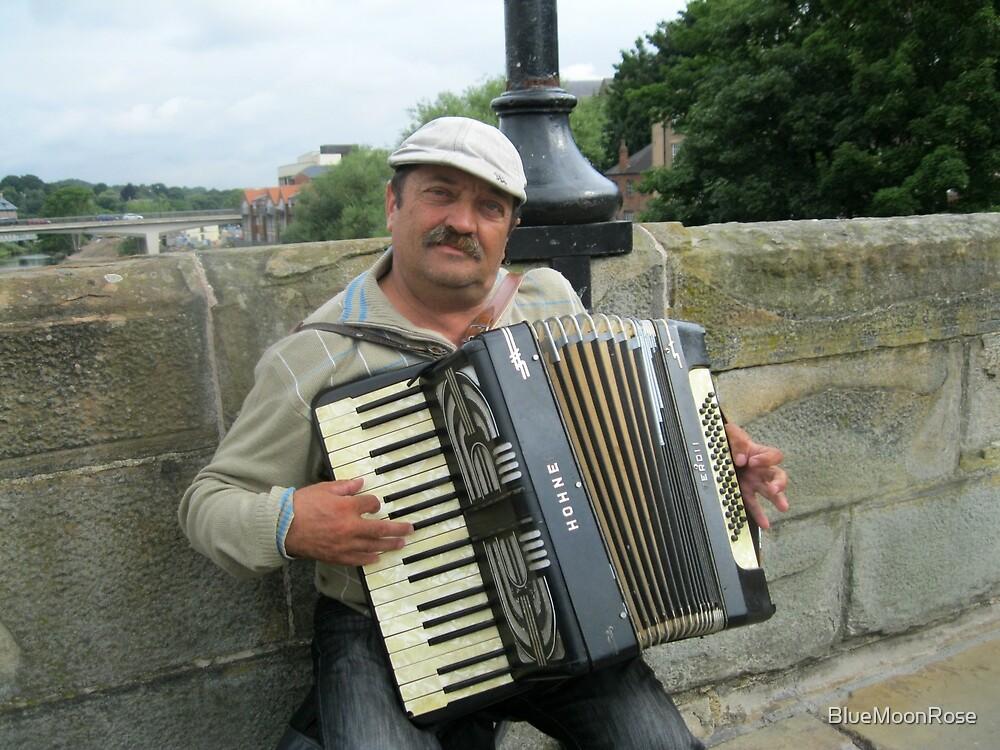 Street Musician by BlueMoonRose