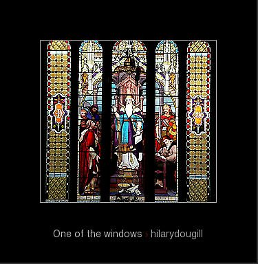 One of the windows by hilarydougill