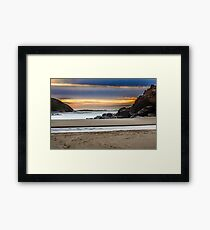 Fogarty Creek Sunset Framed Print