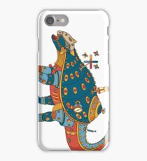 Dinosaur, from the AlphaPod collection iPhone Case/Skin
