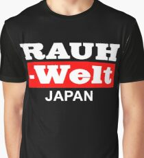 RAUH WELT : JAPAN RED Graphic T-Shirt