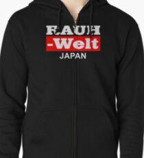 RAUH WELT : JAPAN RED Zipped Hoodie