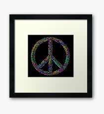 PEACE in all Languages Framed Print