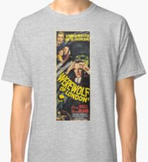 Werewolf of London, vintage horror movie poster 2 Classic T-Shirt