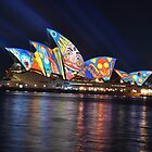 Luna Park on Opera House, Sydney, Australia 2013 by muz2142