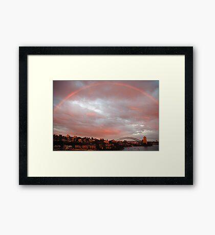 Light - Sydney Harbour, Australia Framed Print