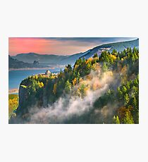 Crown Point Sunset Photographic Print